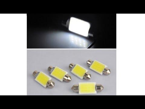 Замена подсветки в багажнике на LED Ланос(SENS).