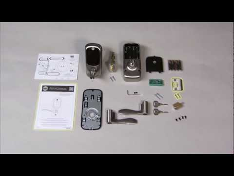 Yale Real Living Lever Lock Installation 01