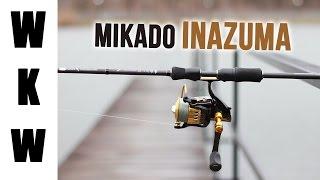 Wędka spinningowa - okonie na ciężko, szczupaki i sandacze| Test wędki Mikado Inazuma Flash Perch