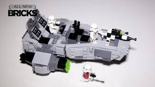 getlinkyoutube.com-Lego Star Wars 75100 First Order Snowspeeder Speed Build