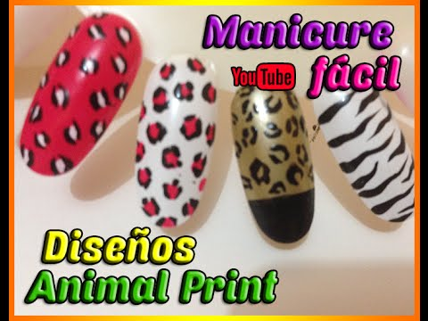Manicura Animal Print | Maquillaje de uñas