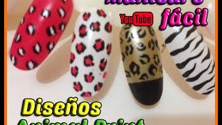 getlinkyoutube.com-Manicura Animal Print | Maquillaje de uñas