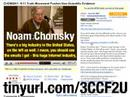 Re: CHOMSKY: 9/11 Truth Movement Pushes Non-Scientific Evide