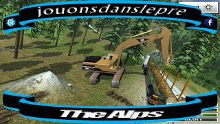 getlinkyoutube.com-farming simulator 2013 /The Alps / SAISON 2 / Forest Edition EP 2