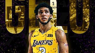 LiAngelo Ball Declares For 2018 NBA Draft & Joining Lonzo Ball on the The Lakers!