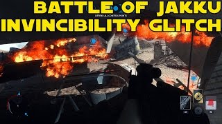 getlinkyoutube.com-Star Wars Battlefront Battle of Jakku How To Become Invincible with the Invincibility Glitch