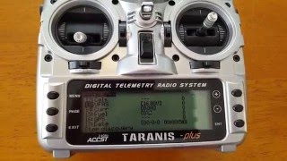 getlinkyoutube.com-How to setup Telemetry on the Taranis OpenTX 2.1 for low voltage alarms