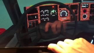 getlinkyoutube.com-Scania Home Cockpit building for ETS2 Direction Indicators Test1