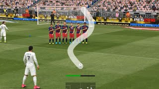 getlinkyoutube.com-PES 2017 FREE KICK TUTORIAL - 100% WORKING