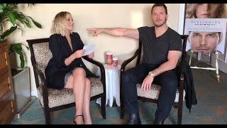 Passengers Movie Q&A with Jennifer Lawrence and Chris Pratt