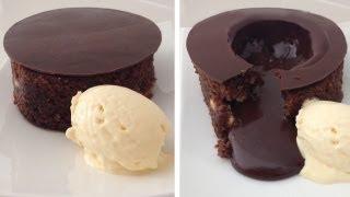 getlinkyoutube.com-Magic Chocolate Lava Cake Dessert Recipe HOW TO COOK THAT chocolate fondant Ann Reardon
