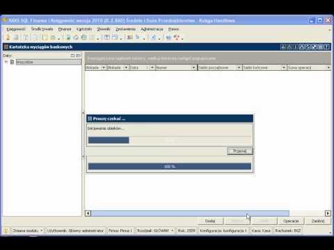Automatyczny import wyciągów bankowych w module Finase i Księgowość programu RAKSSQL