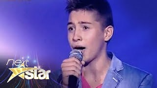 "getlinkyoutube.com-Valentin Poenariu - Lara Fabian - ""Je t'aime"" - Next Star"