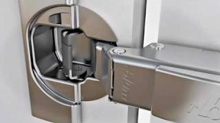 getlinkyoutube.com-Blum Clip Top Hinge With Integrated Blumotion Soft Close System - From HPP