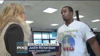 getlinkyoutube.com-Student Saves A Teacher FROM GETTING STABBED BY ANOTHER TEACHER!!!!