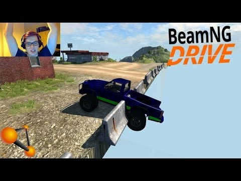 BeamNG Drive + Webcam - Mini Monster Truck Mod