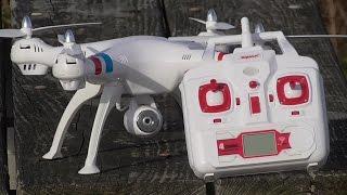 getlinkyoutube.com-Syma X8C Venture with 2MP Wide Angle Camera 2.4G 4CH RC Quadcopter