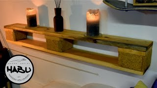 DIY | Pallet shelf