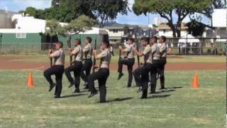 getlinkyoutube.com-West Point Drill Meet 2012 - Campbell High School NJROTC - 1st Place Armed Exhibition