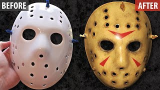 getlinkyoutube.com-Painting and Weathering a Jason Mask - Friday The 13th