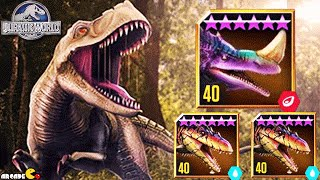 getlinkyoutube.com-All New Hybrids Dinosaurs DOMINATOR League Tournament - Jurassic World The Game