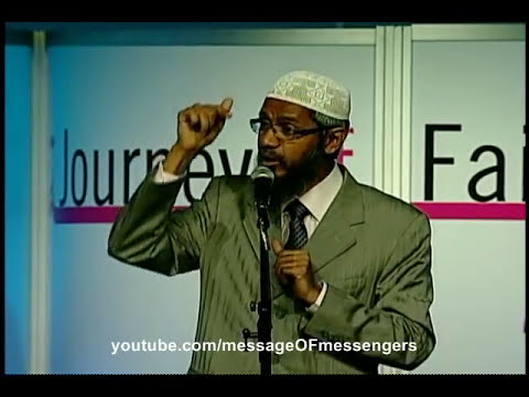 Christian accepts Islam after challenging Zakir Naik at an Islamic Conference!