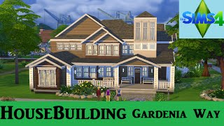getlinkyoutube.com-The Sims 4: House Building - Gardenia Way