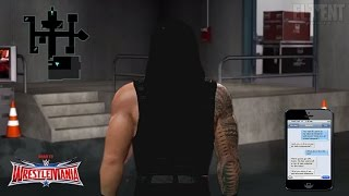 getlinkyoutube.com-WWE 2K16 Road To Wrestlemania 32 Notion - Roman Reigns Story (concept)