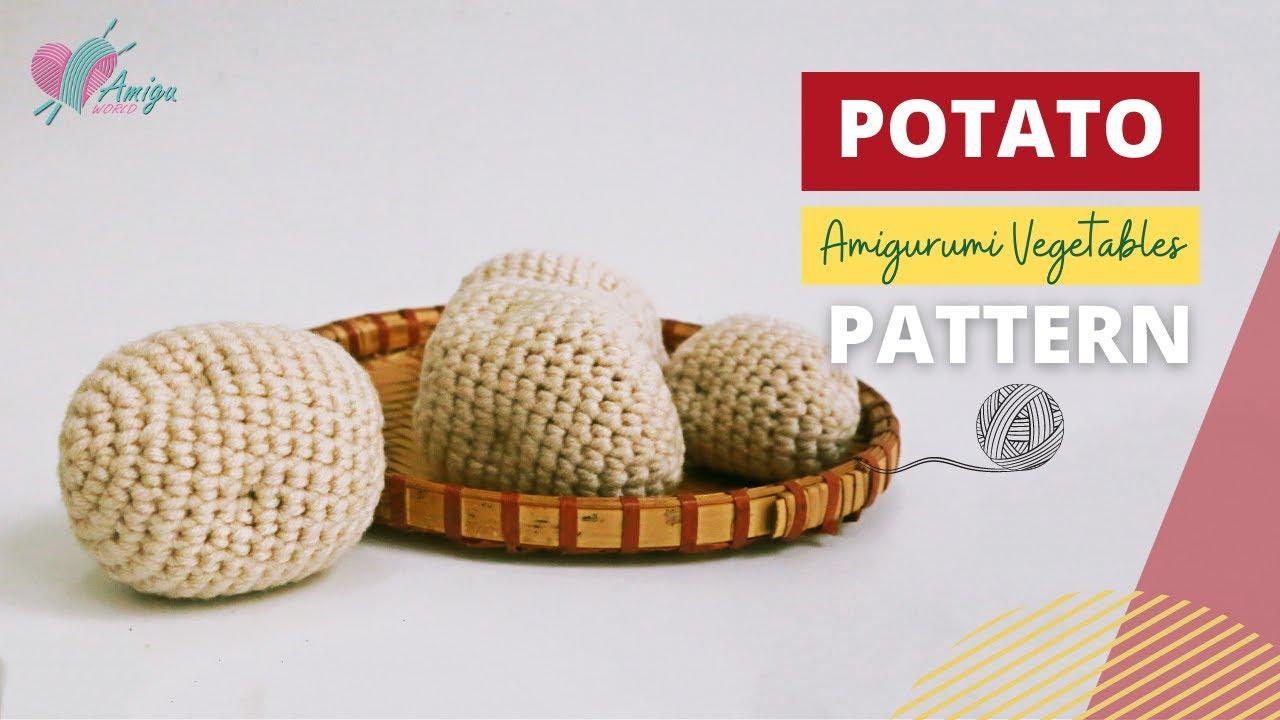 FREE Pattern – How to crochet a Potato amigurumi
