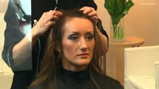 getlinkyoutube.com-Jak zrobić fryzurę dodającą włosom objętości