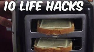 getlinkyoutube.com-10 Life Hacks Everyone Must Know