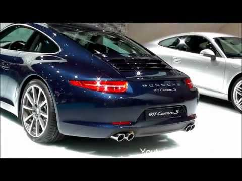 Porsche 911 991 Carrera S - IAA 2011 Frankfurt Motorshow [Full HD]