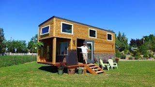getlinkyoutube.com-Tiny House Nation - S3 E9 - Backpack House  - Behind the Scenes
