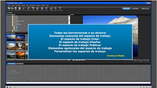 getlinkyoutube.com-Tutorial Proshow Producer 6- 2-Los tres espacios de trabajo