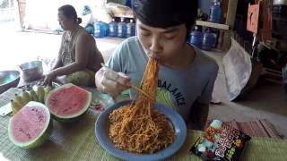 getlinkyoutube.com-กินมาม่าเผ็ดเกาหลี แบบลูกอีสาน