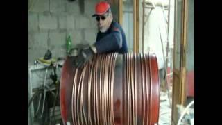 getlinkyoutube.com-rocket stove free energy caldaia autocostruita  made in sardinia