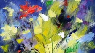 getlinkyoutube.com-Abstract flower and landscape painting of Mario  Zampedroni