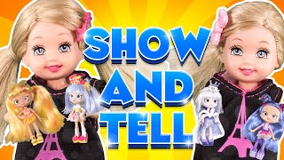 Barbie - Shopkins Show and Tell