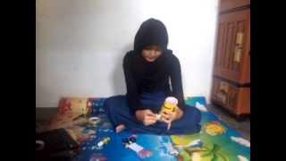 getlinkyoutube.com-Cara Membuat Boneka Minion Dengan Kertas Asturo