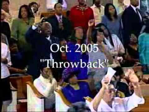 Walter Hawkins Classic  Pastor E Dewey Smith Jr  Sings