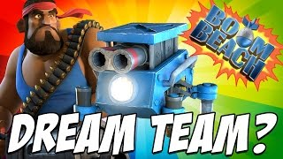 getlinkyoutube.com-Boom Beach | HYPER Critters | Heavy and Critters Attacks vs Dr Terror!