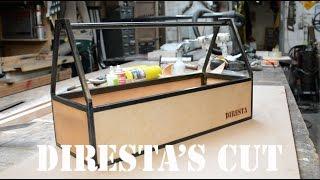 DiResta's Cut: Steel & Leather Tool Tote