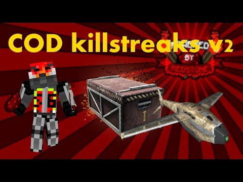 Minecraft: Cod kilstreaks v2 - care package and hunter killer drone