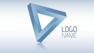 Adobe Illustrator CC | 3D Logo Design Tutorial (Trine)