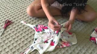 getlinkyoutube.com-DIY: (How to) Shirt Braiding