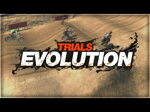 Trials Evolution | This Game Is Racist (Trials Funny Moments)