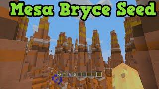getlinkyoutube.com-Minecraft Seeds: MESA BRYCE & Diamonds At Spawn TU31 Seed