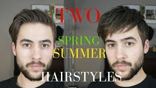 Men's hair 2017 + Spring/Summer Hairstyles Men | Quick and easy hairstyles 2017
