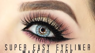 getlinkyoutube.com-Super Easy Eyeliner look
