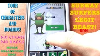 getlinkyoutube.com-Subway Surfers Tour of all my Characters and Boards!